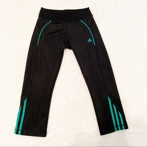 Adidas Workout Leggings S black and green